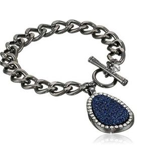 Kenneth Cole Blue Drusy Bracelet